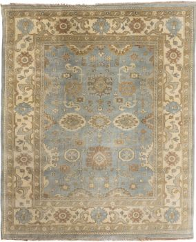 Hand Knotted Oushak Rug 8 X 10